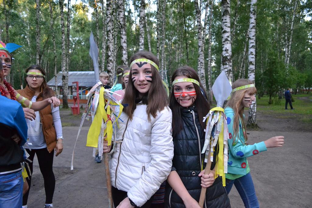 огонек знакомства для летнего лагеря